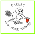 Text Box: Barnes Hash House Harriers